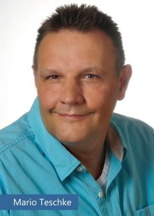 Autogrammkarte Schauspieler Mario Teschke