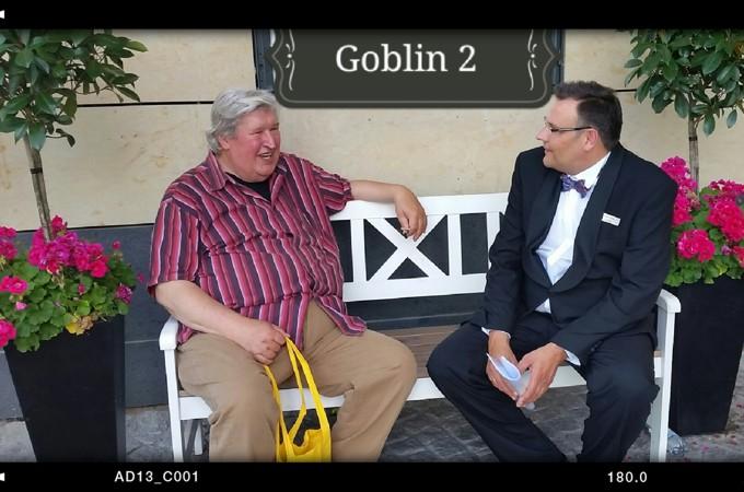 Mario Teschke Schauspieler mit Helmut Krauss - Löwenzahn- Goblin 2